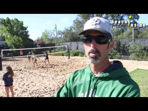 Meet Todd Rogers during #CalPoly NCAA Beach-Volleyball practice / Part 1/2