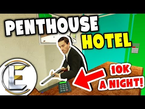 Penthouse Hotel - Gmod DarkRP (Most Expensive Hotel 10k A Night!)