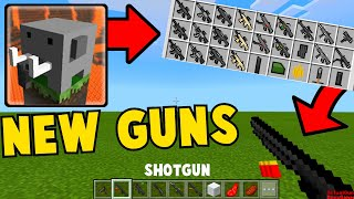How To Make GUNS in Craftsman:Building Craft (PART 3)
