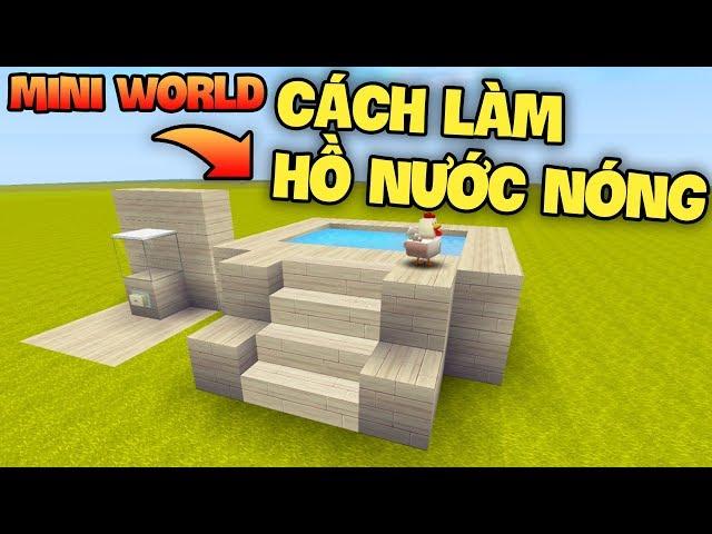 Mini world : Block Art HU?NG D?N MÁY TH? TH?C ?N T? ??NG VÀ H? N??C NÓNG HI?N ??I TRONG SINH T?N