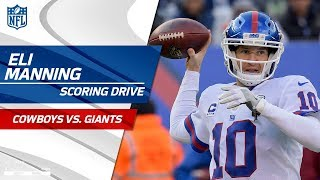 Eli Manning Leads New York to a FG on 1st Drive Back as Starter! | Cowboys vs. Giants | NFL Wk 14 2017 Video