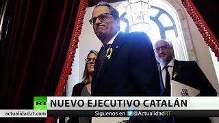 Quim Torra desbloquea la formación del Gobierno regional de Cataluña