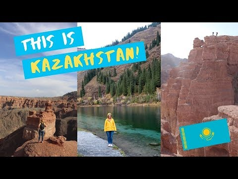 The 'Grand Canyon' of Kazakhstan - Charyn Canyon Travel Vlog