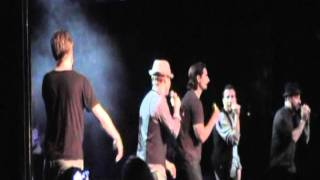 "Backstreet Boys cruise 2011 ""Drowning"" with Kevin Richardson.MOD"