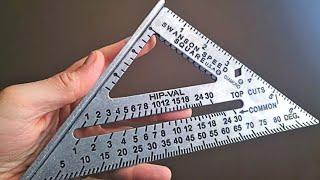 Угольник Свенсона - максимальный обзор (Swanson Speed Square - How To Use)