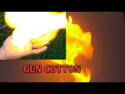 MAGICIANS FIRE TRICK REVEALED,Smokeless flash || Flash paper|| How to make Nitrocellulose,Gun cotton
