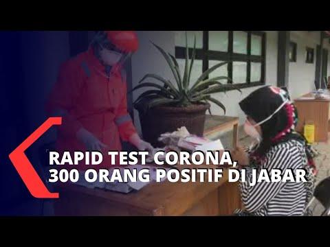 Rapid Test Di Jawa Barat, Ridwan Kamil Sebut 300 Orang Positif Corona