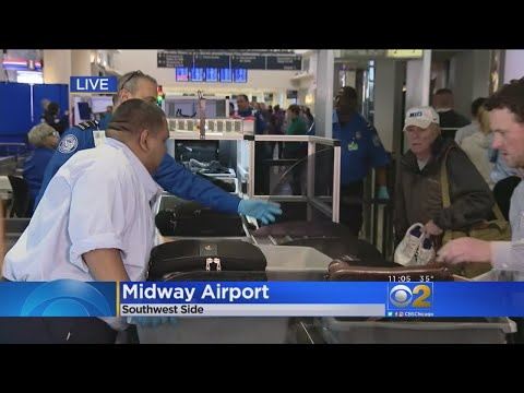 Midway Airport Gets 2 Automated Security Screening Lanes