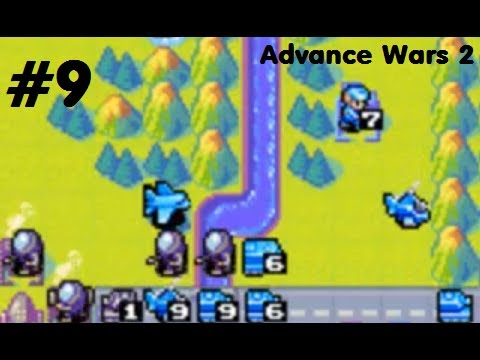 Let's Play Advance Wars 2 - #9. A Boy and His Trust Fund