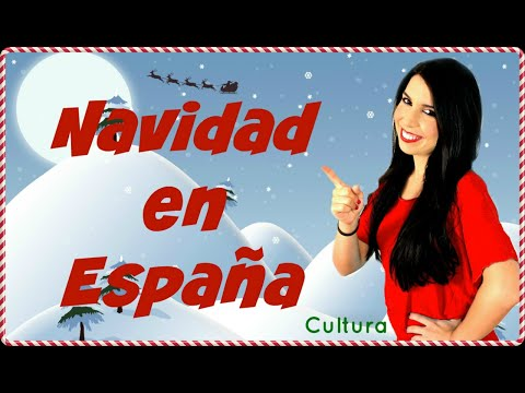 Babbo Natale In Spagnolo.Cultura Spagnola Il Natale In Spagna Esp On Com Youtube