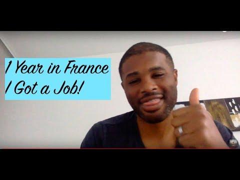 1 Year in France - I Got a Job!!!