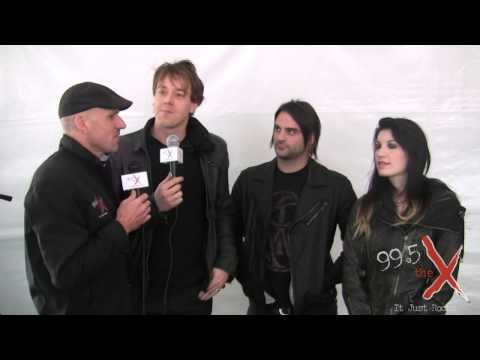 Sick Puppies Interview - Carolina Rebellion 2013 - 99.5 The X
