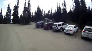 2018 Slate Peak/Harts Pass descending to Meadows Campground