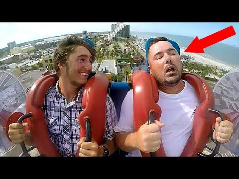 Guys Passing Out | Funny Slingshot Ride Compilation