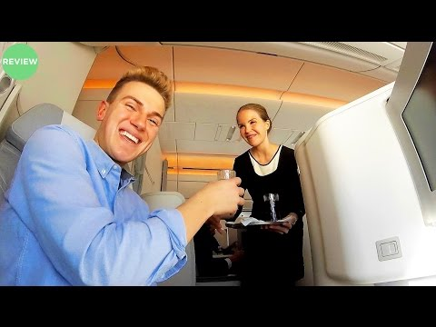 FINNAIR A350-900XWB Business Class Review | Berlin to Helsinki Flight Experience!