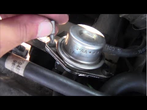 How to Remove Install Fuel Pressure Regulator - YouTube