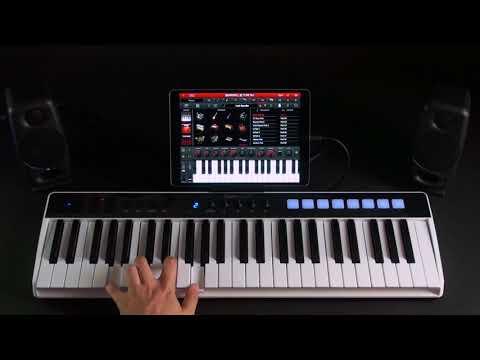 iRig Keys I/O - Integration with SampleTank for iOS