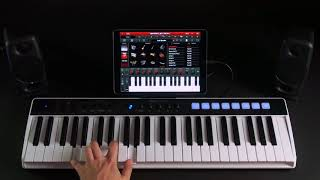 iRig Keys I/O - Integration with SampleTank for iOS