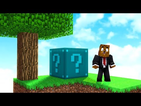 *No Rules* NEW Big Lucky Block Sky Wars - Minecraft Modded Minigame   JeromeASF