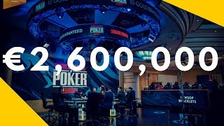 WSOP-E Super High Roller Numbers Are In!