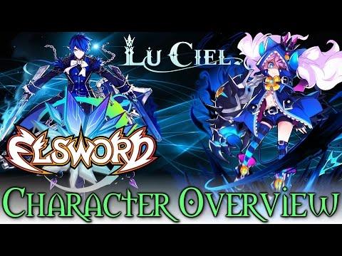 Elsword - Luciel Character Overview + Job Change