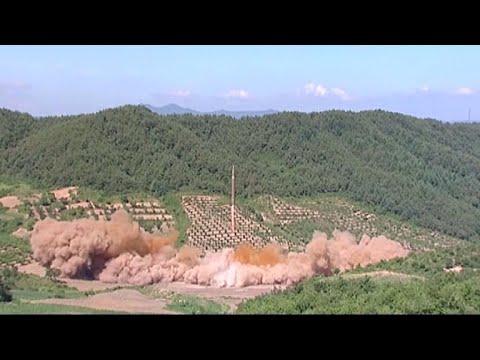North Korea test-fires second ICBM