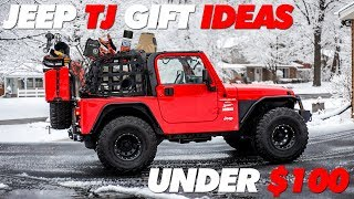 Jeep TJ Gift Ideas for Under $100