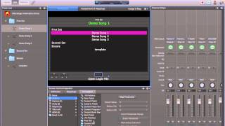 Apple Mainstage and Logic Pro X Automation for live performances