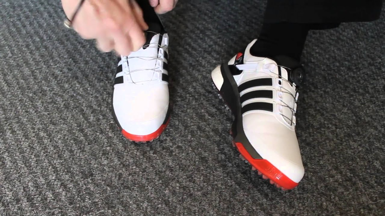 adidas boost golf shoes review - YouTube 0a0e120135c4