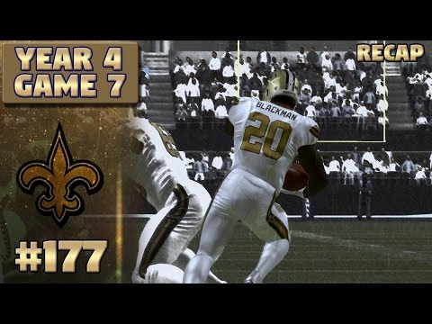 Saints @ Seahawks Recap (S4, G7) | Madden NFL 17 New Orleans Saints Franchise Ep. 177
