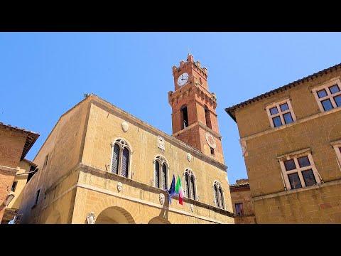 Pienza, Tuscany (Toscana), Italy (Italia) [HD] (videoturysta.eu)