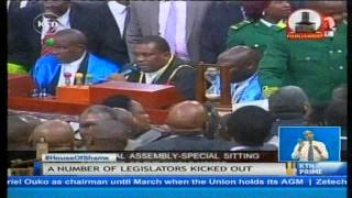 Chaos and drama follow up after the controversial security laws amendment bill 2014 passed