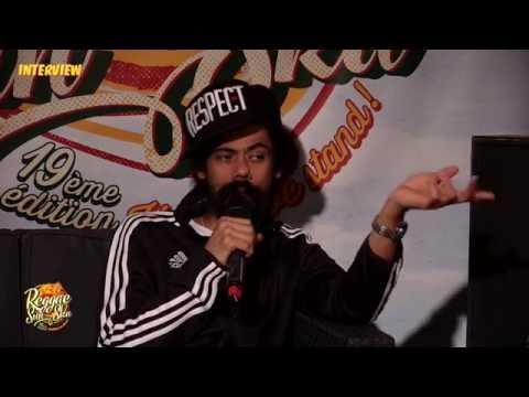 "Interview de Damian ""Jr. Gong"" Marley - Reggae Sun Ska 2016"