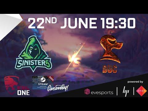EveSports - EGL One Dota 2 Season 1 - Sinister 5 vs DUC