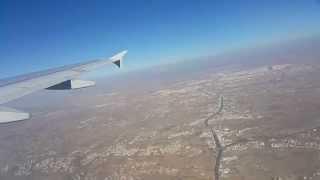 إقلاع من مطار أبها إلى مطار القاهره Taking off from Abha Airport to Cairo Airport