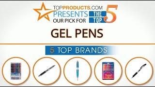 Best Gel Pen Reviews 2017 – How to Choose the Best Gel Pen
