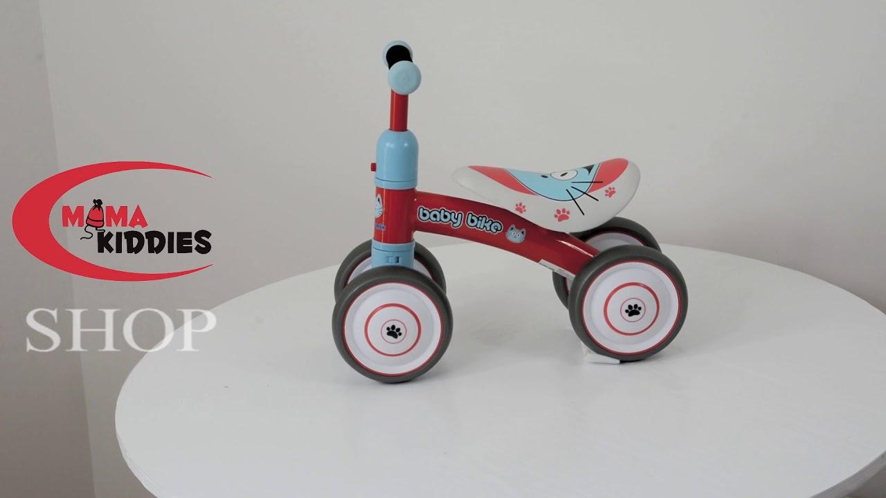 7ba5a5c3d Modrý štvorkolesový bicykel -odrážadlo - Detské kočíky, detské bezpečnostné  sedačky, detský nábytok, cestovné postieľka v akcii!