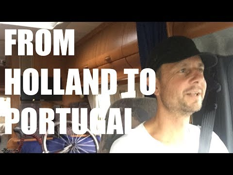 Vlog - Traveling from Holland to Portugal