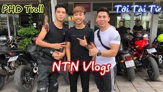 Tới Tài Tử Giao Lưu Gặp Gỡ NTN Vlogs và PHD Troll ở Đại Hội Motor Festival 2019.