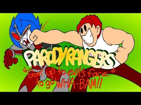 "Parody Rangers: ""Goin' up to evil's face...to go WHA-BAM!!"" - Kirblog 9/8/15"