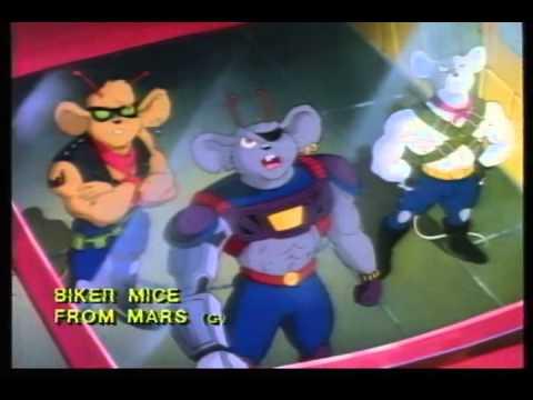 biker mice from mars trailer 1993 youtube