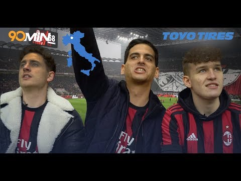 How does the San Siro erupt during the Milan derby? | The Toyo Tires Superfan Relay Ep #3