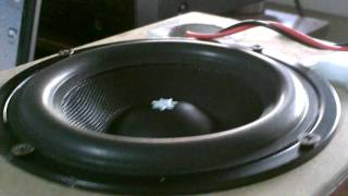 Custom 6.5 Inches Subwoofer Excursion Goes Crazy !
