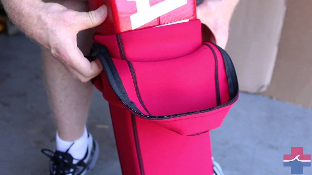 323607ec130 How To Put On A Lifeguard Rescue Tube Cover - YouTube