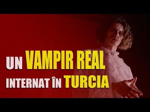 Un vampir real internat in Turcia