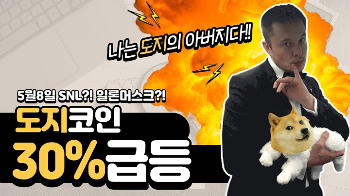 도지코인 또 30% 급등 (feat.일론 머스크)
