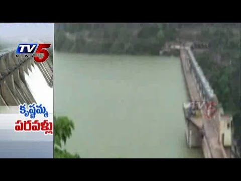Srisailam Dam Four Gates Opened : TV5 News