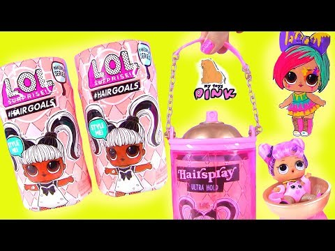ЧЕШЕТСЯ ГОЛОВА! КУКЛЫ ЛОЛ 5 СЕРИИ #ХЕАРШТОЛС☺️ LOL Surprise Dolls #Hairgoals пупсики с MY TOYS PINK