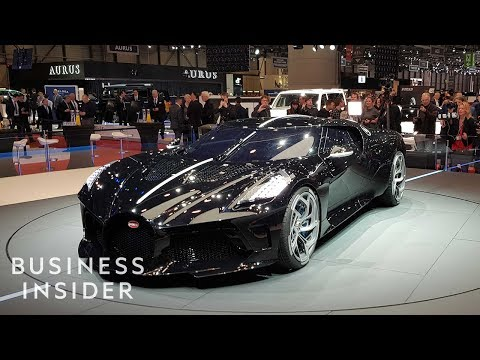 Why The Bugatti La Voiture Noire Costs $18 Million