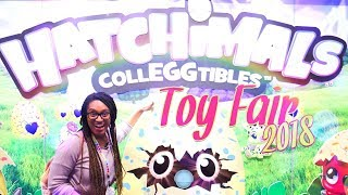 Toy Fair 2018 HATCHIMALS First Look | ALL NEW Toys, Plushies, Blind Eggs & Much More!!